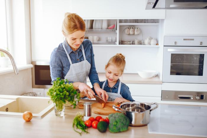 God arbeidsflyt på nytt kjøkken
