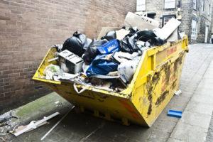 bortkjøring av avfall på nyåret