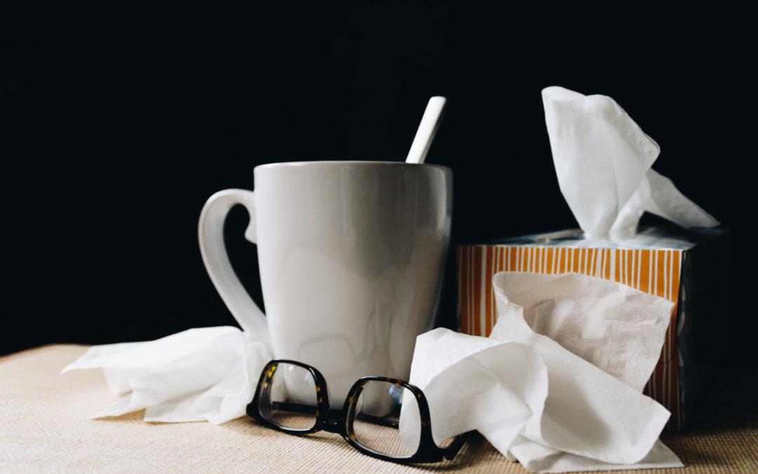 Slik senker du smittefaren på arbeidsplassen i vinter