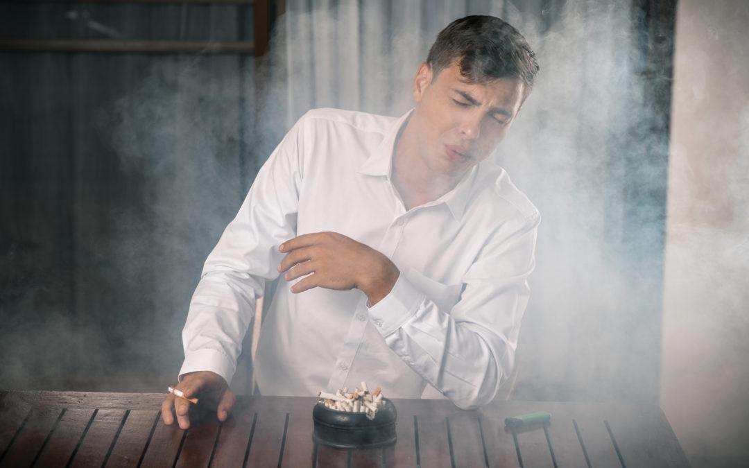Effektiv fjerning av røyklukt